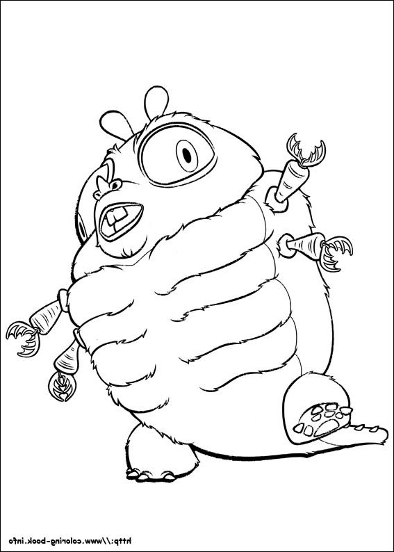 The Best monsters vs aliens coloring pages - http://coloring.alifiah ...