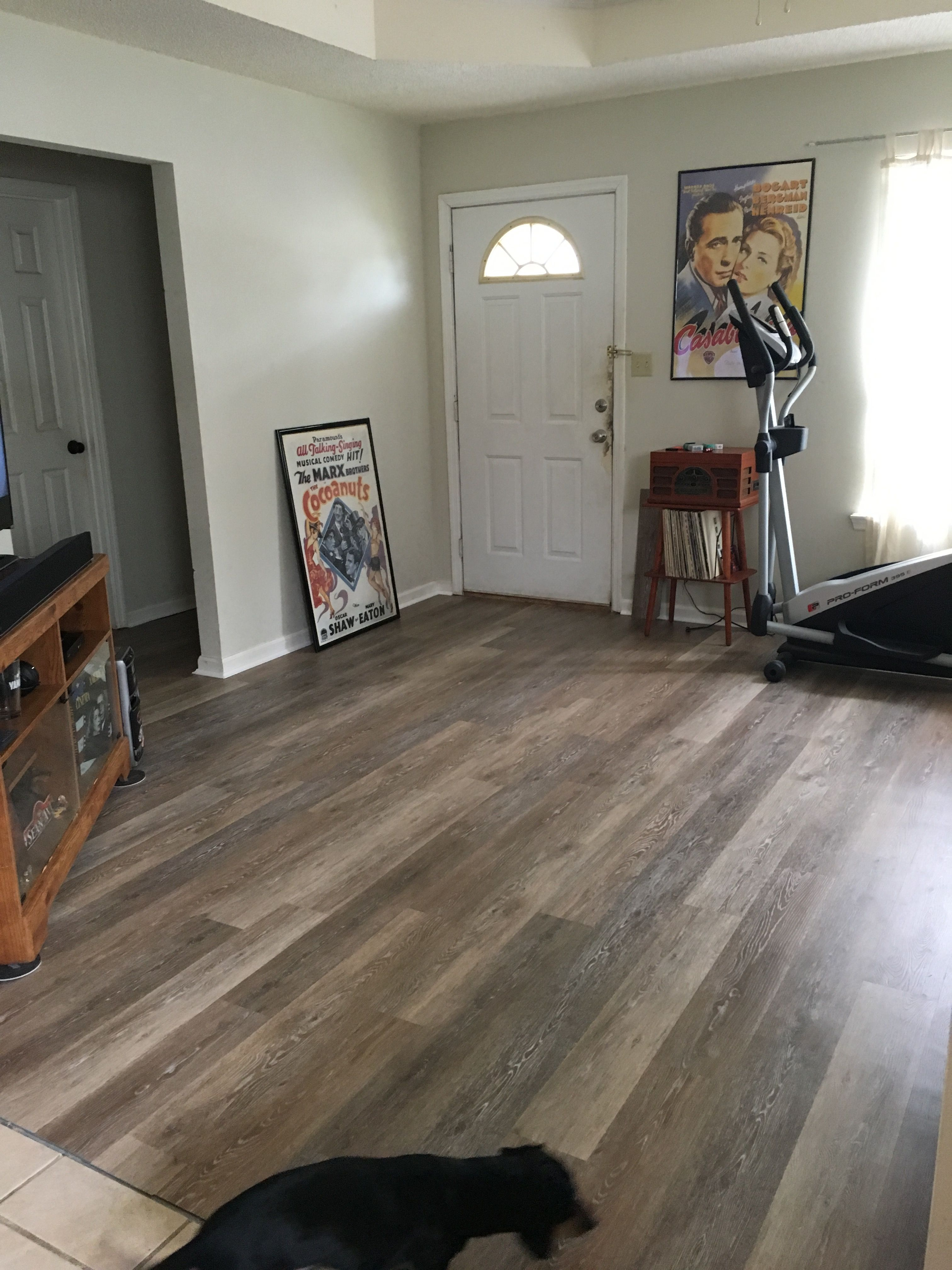 Khaki Oak Trafficmaster Vinyl Planks Vinyl Plank Vinyl Flooring Updating House