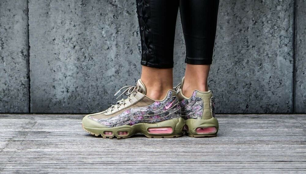Nike Air Max 95 Floral Camo Olive