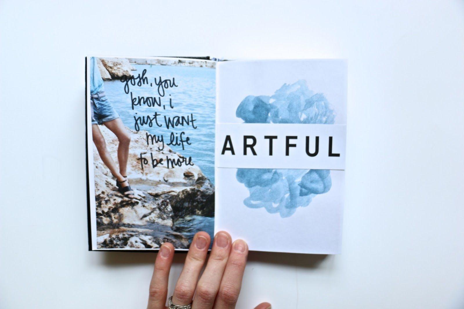 art journal by heather