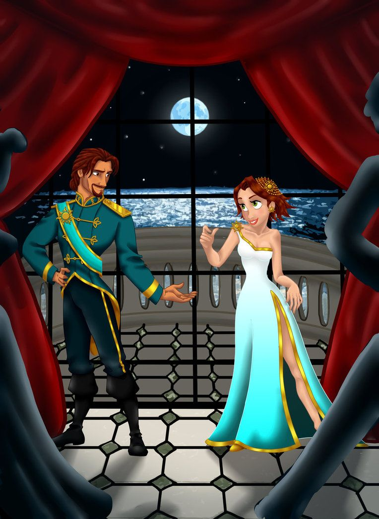 Lets Dance My Rapunzel by MissMikopete on deviantART