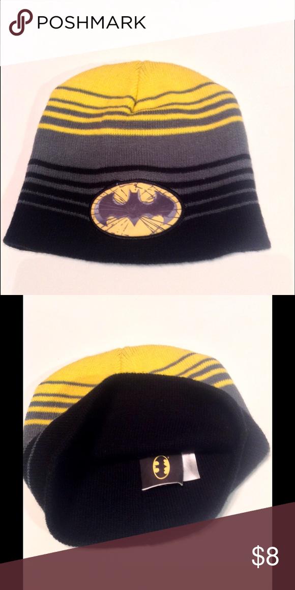 4df84bd7e98 Boys BATMAN Hat TM and DC Comics Label Batman Accessories Hats