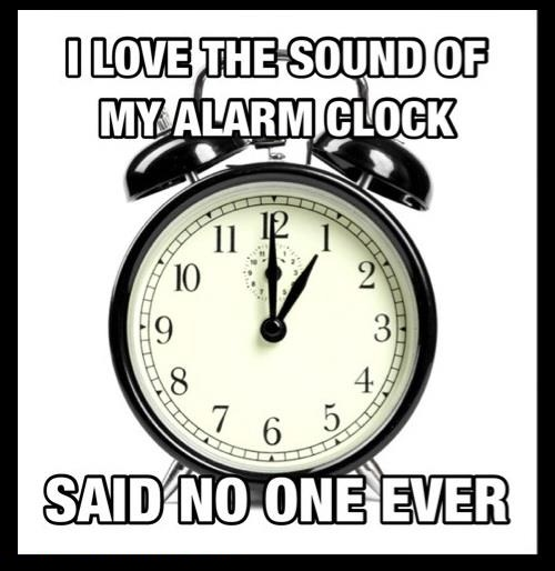 Said No One Ever Said No One Ever Clock Alarm Clock