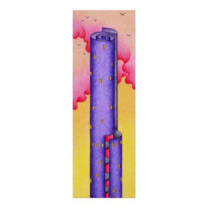 Paper Roll Poster Zazzle Com Rolled Poster Architecture Poster Person Sketch