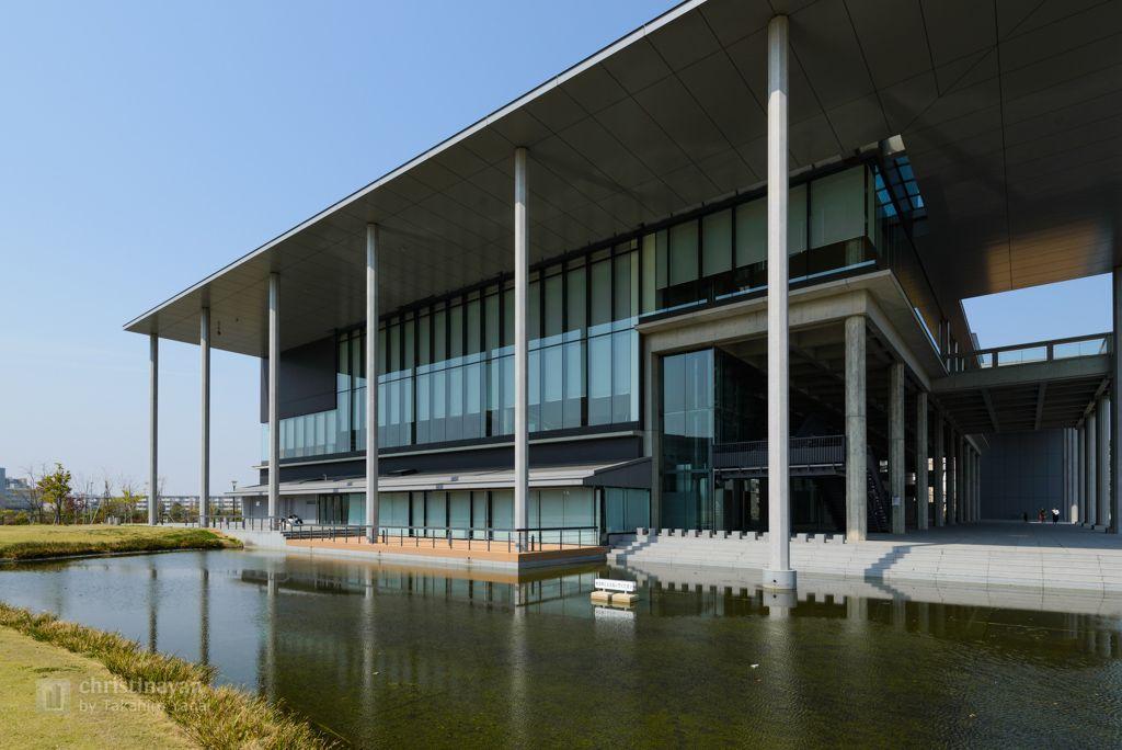 東京理科大学 葛飾キャンパス 図書館棟 / 日建設計 - 建築グラビア | 日建設計, 建築写真, 建築