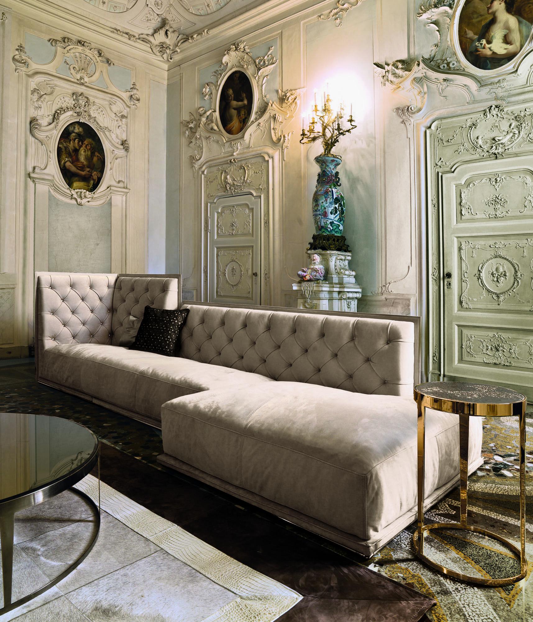 Longhi Napoleon Sofa Luxury Furniture Design Luxury Furniture Luxury Living Room