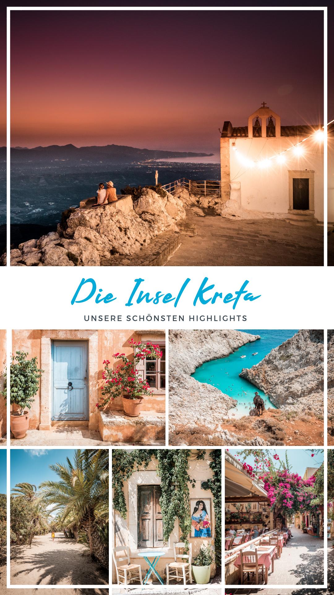 Kreta Highlights • Unsere 18 Reisetipps für deinen Kreta Urlaub #greekislands