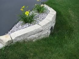 retaining wall culvert landscaping