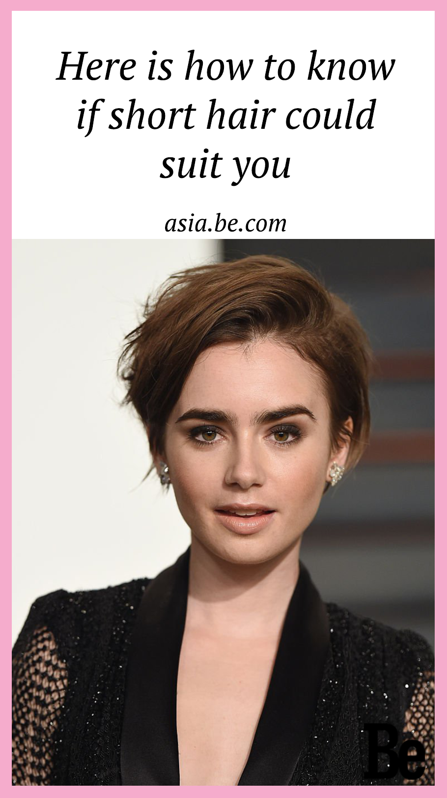 here is how to know if short hair could suit you | beauty | lily