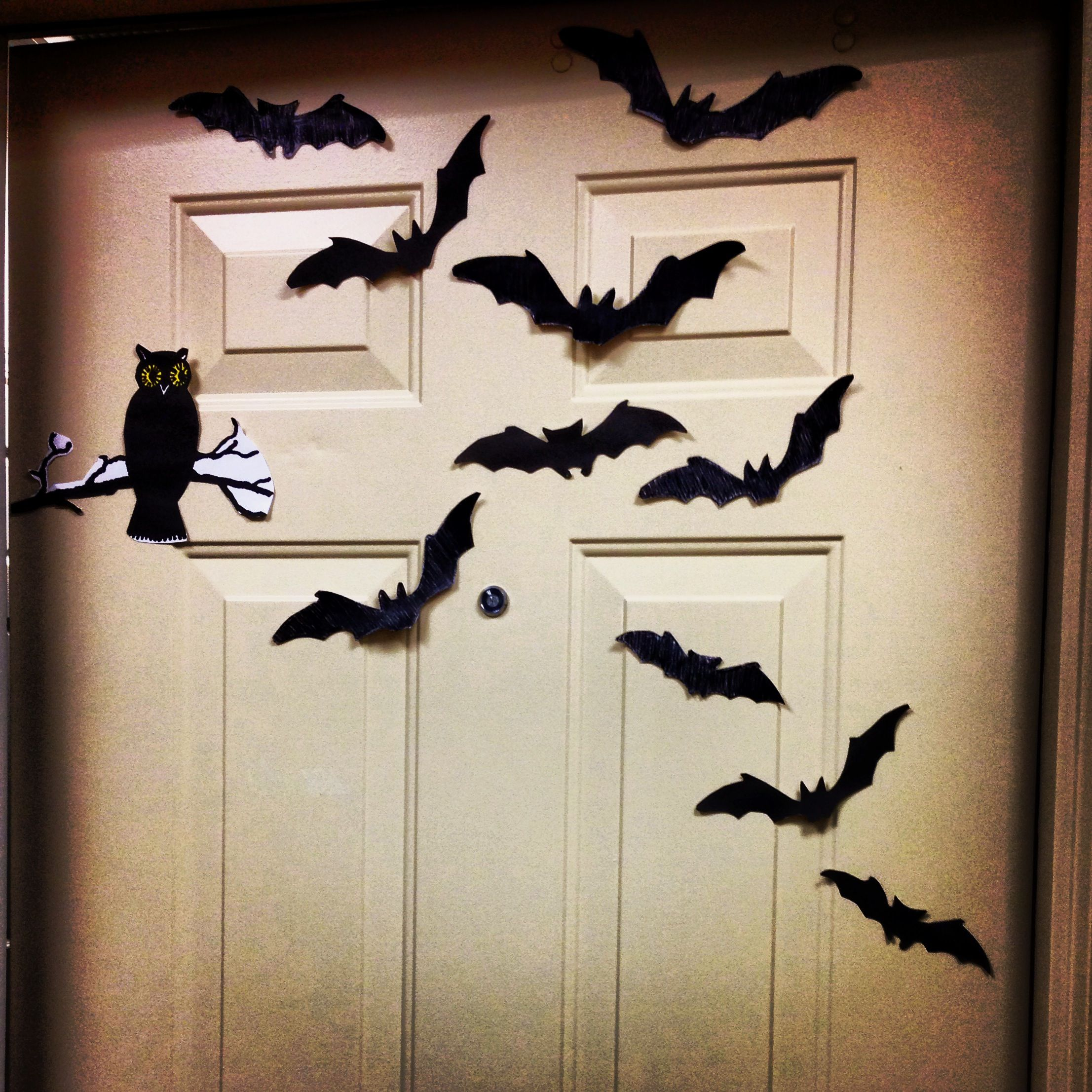 Halloween dorm door decorations - Halloween Dorm Door Decorations