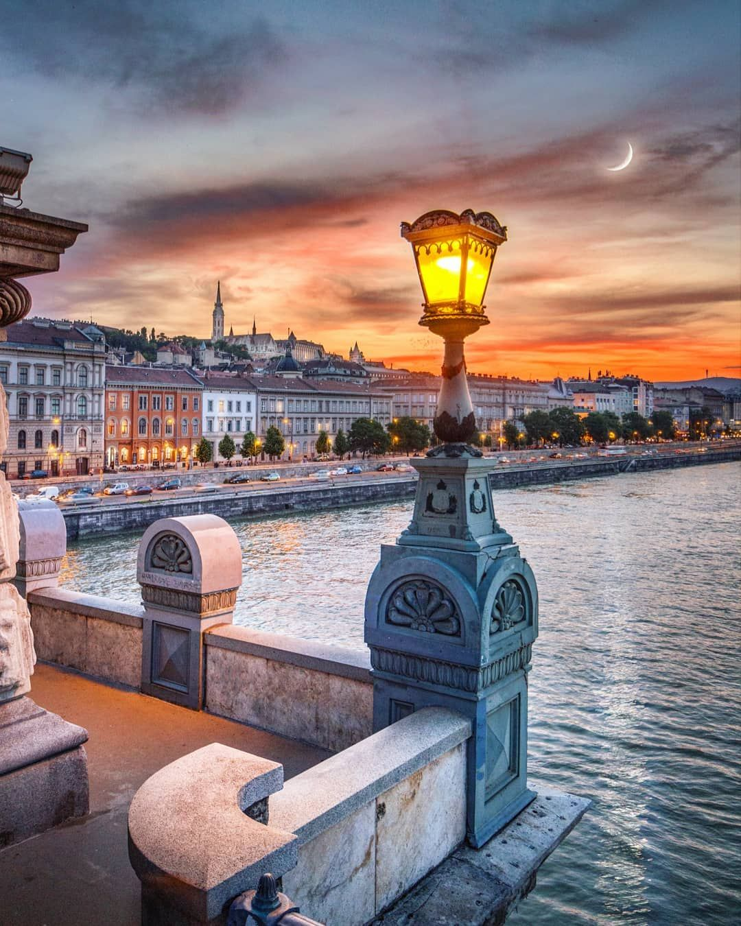 Summer Nights In Budapest Are So Special Imagine Walking Here On