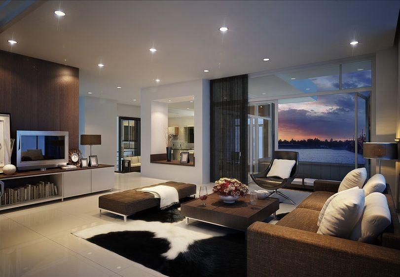 Villa Living Room Design Interior Design Ideas Minimalist