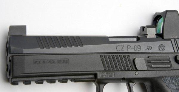 CZ Fiber Optic Front Sight 10 0mm High (3 1mm Wide Blade