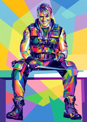 Dolph Lundgren | Displate thumbnail