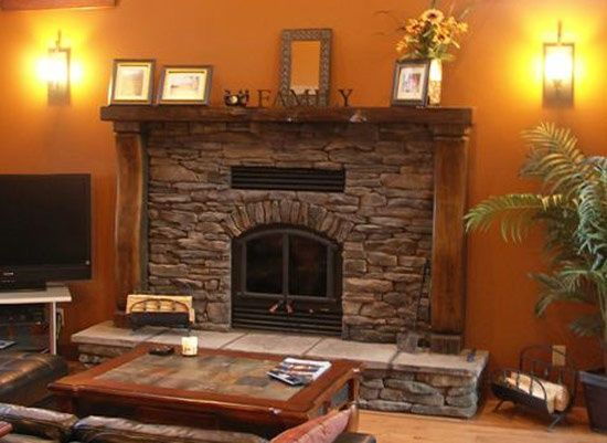 Rustic Timber Fireplace Mantels Rustic Timber Mantel With Columns Milled From Reclaimed Wood These Home Dream House Home Renovation