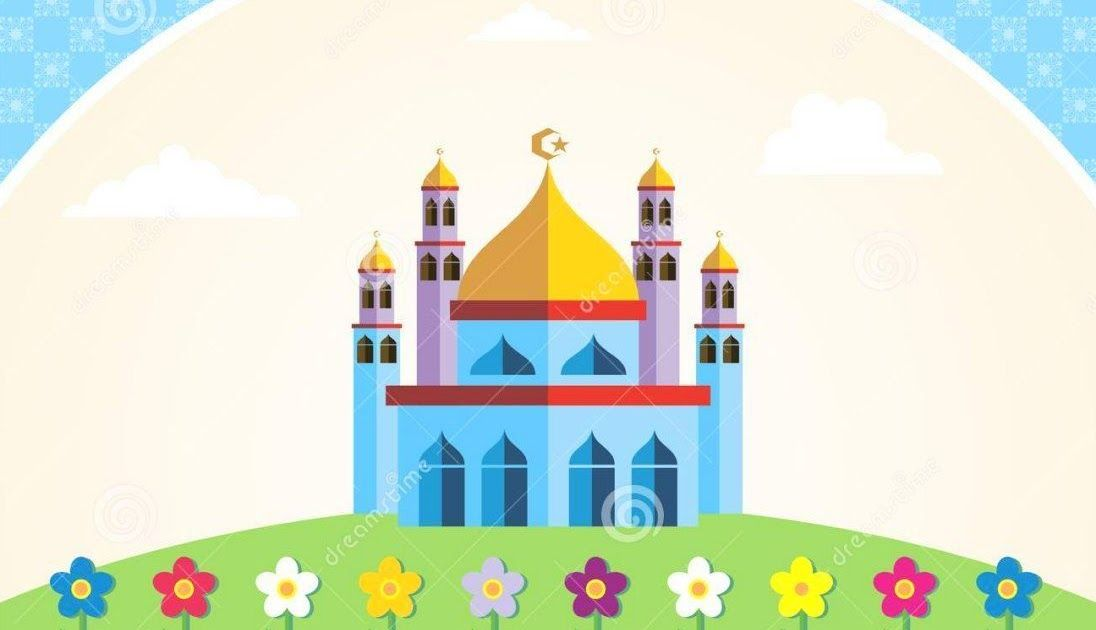 33 Gambar Masjid Dalam Kartun Di 2020 Dengan Gambar Kartun
