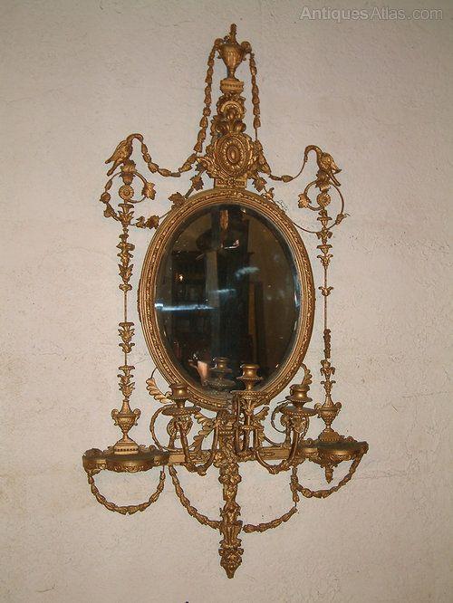 Antiques Atlas - Late 19th Century Girandole Mirror