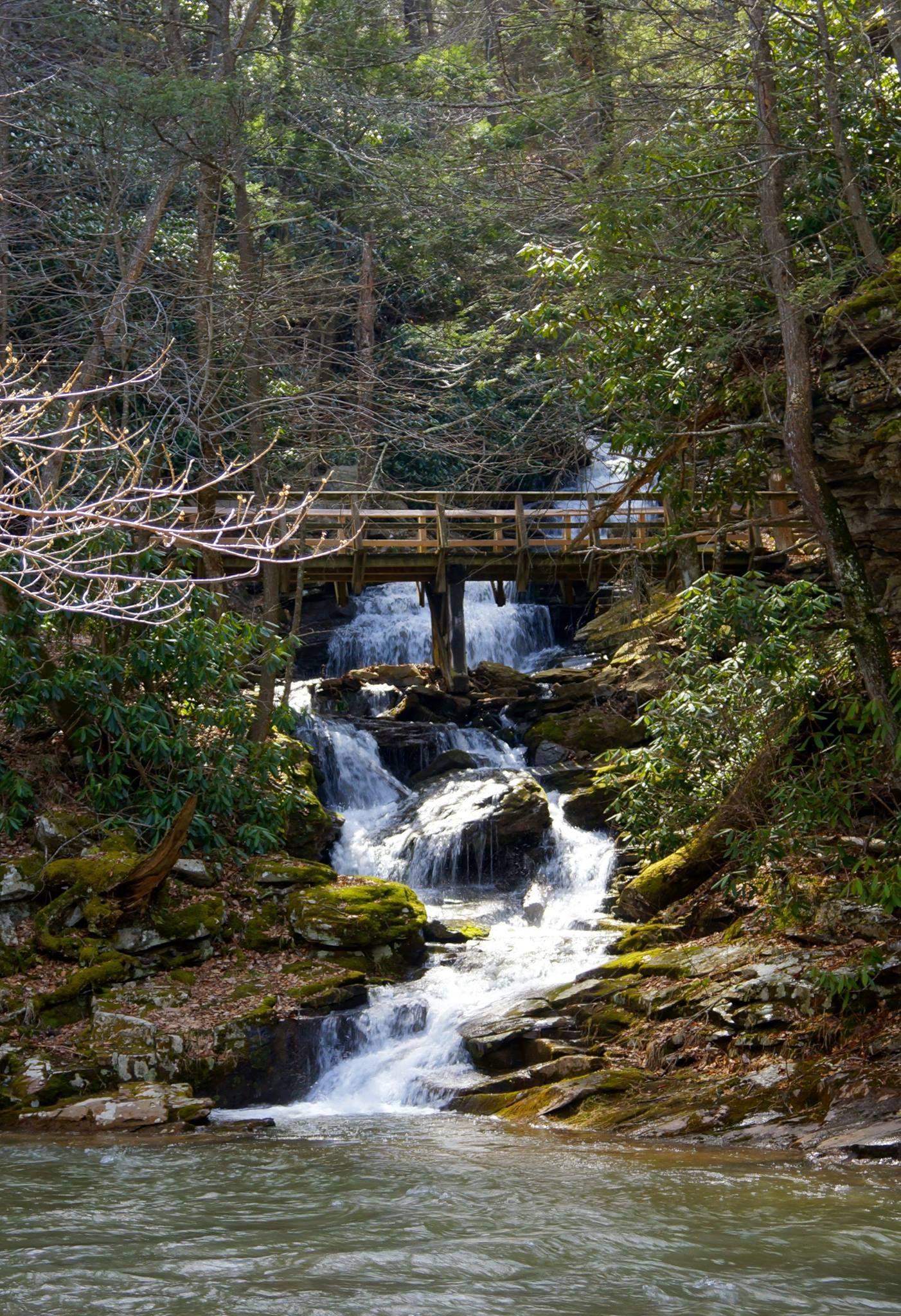 Rainbow Falls Trough Creek State Park PA
