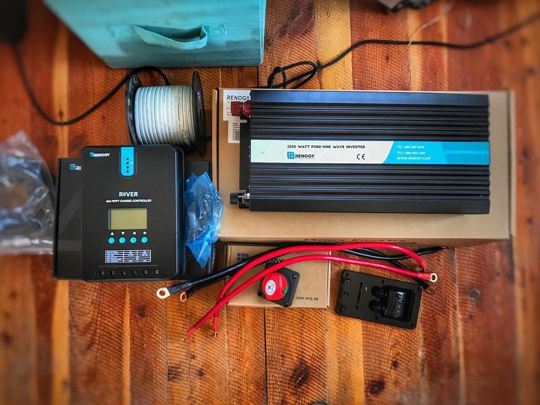 Best 12v Inverter For Camper Van Conversions And Rv Living Solar Power System Rv Solar Van Life