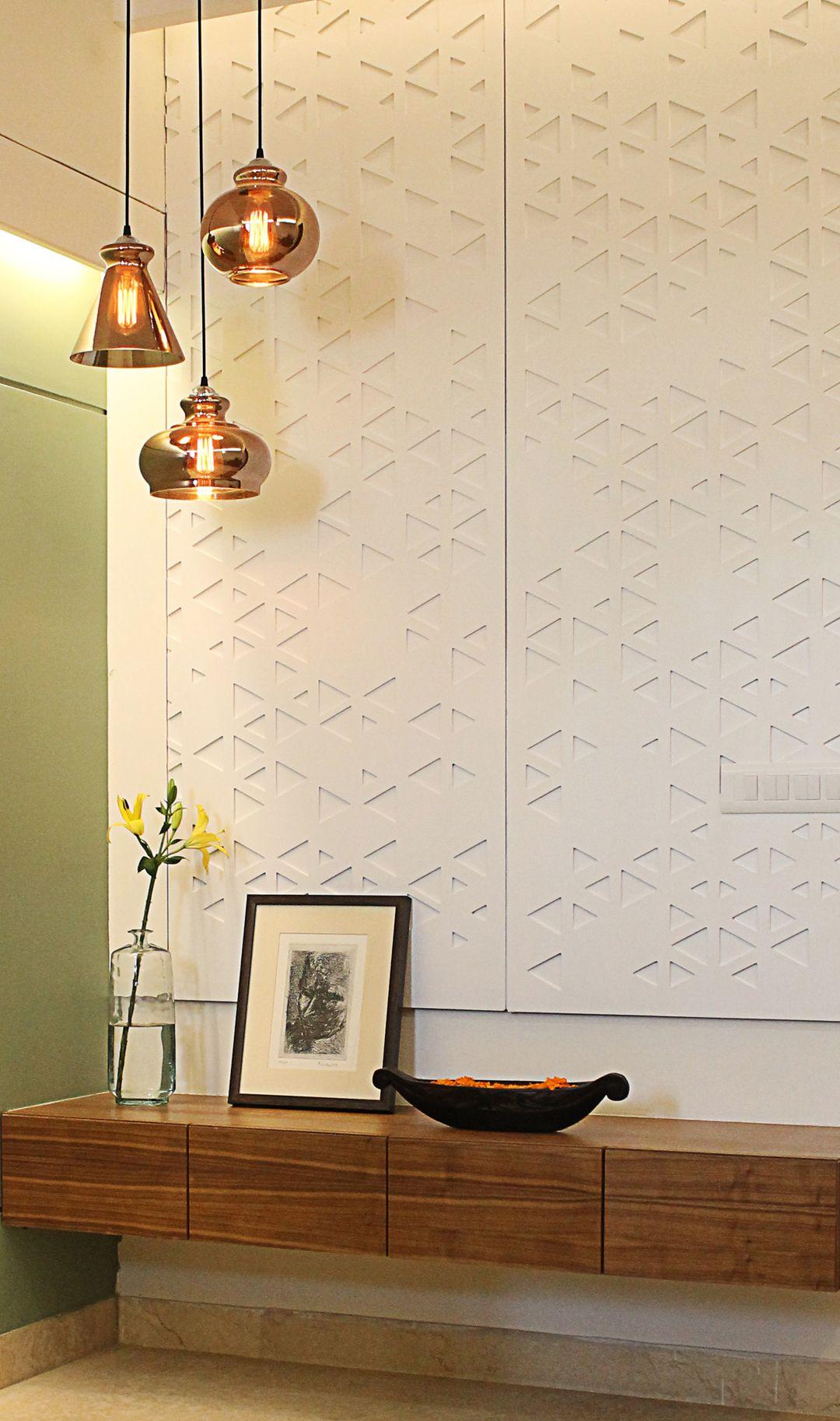 Home interior design gurgaon contemporary jali panelling spda interior design studio gurgaon
