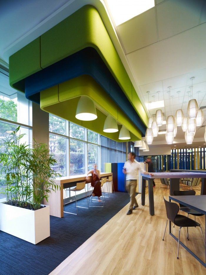 Microsoft Sydney Australia Offices Office Snapshots Commercial Interior Design Office Interior Design Office Colors