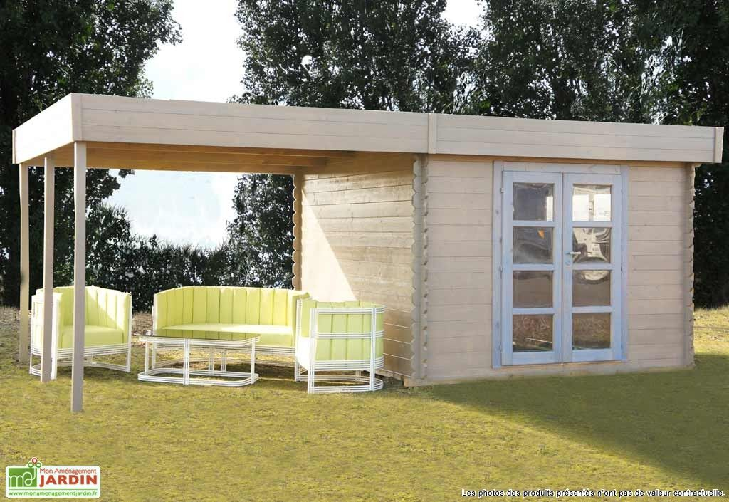 Abri jardin bois Pool House Almandara | Décoration d ...