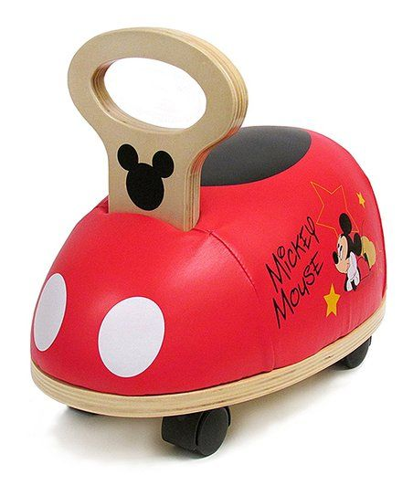 Little Ones Can Scoot Along With This Ride-on That