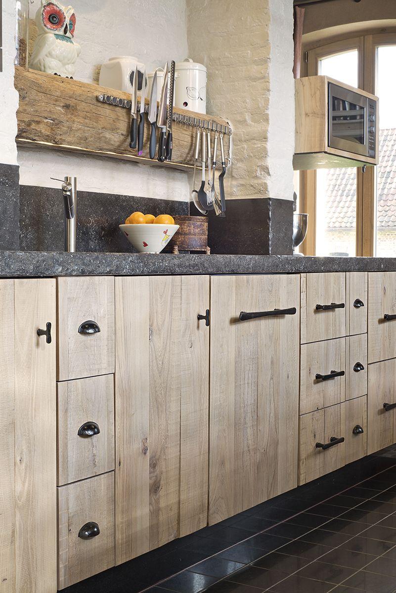 D 39 hondt interieur keuken pinterest houten keuken keuken en keukens - Modele en ingerichte keuken ...