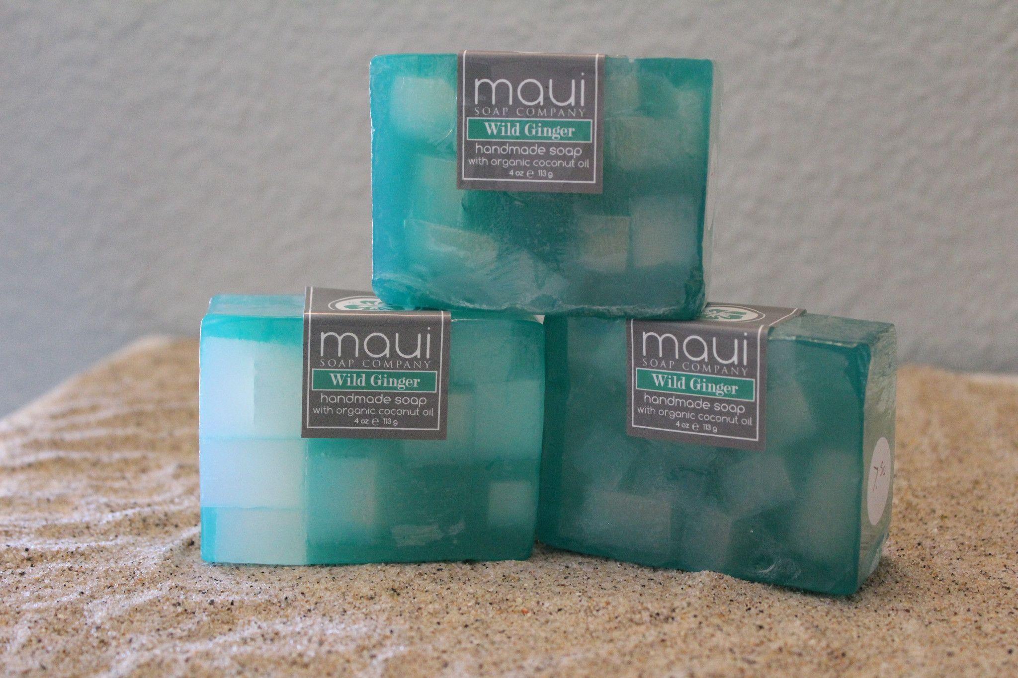 Handmade Wild Ginger Soap