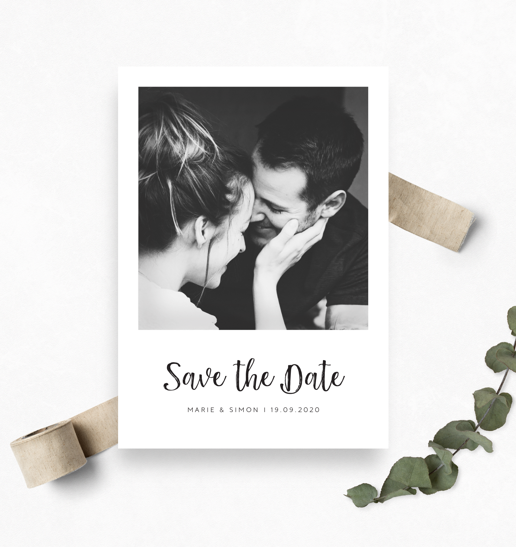 Polaroid Save The Date Karten Save The Date Designs Save The Date Cards Modern Save The Dates