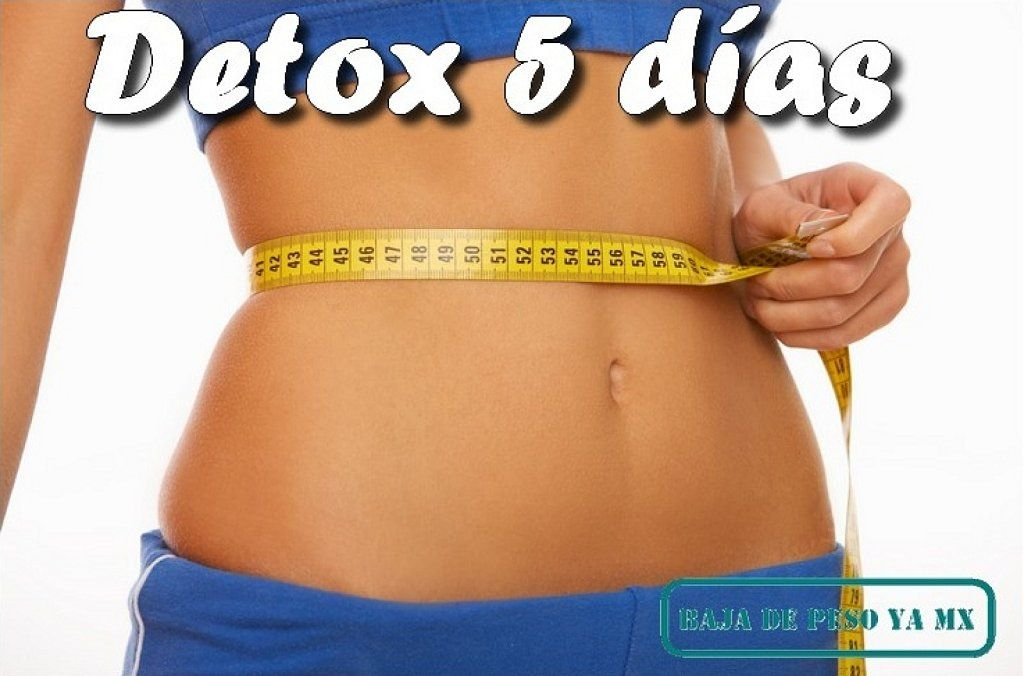 Dieta detox 5 dias facil