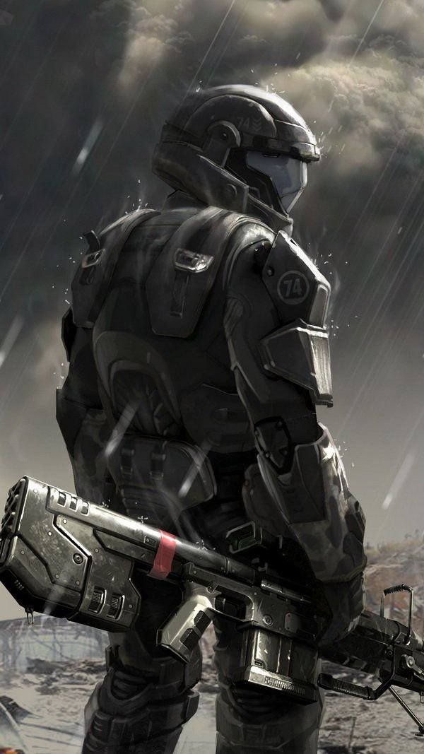 Soldier Concept Halo 4 With Images Halo Armor Halo Halo Game