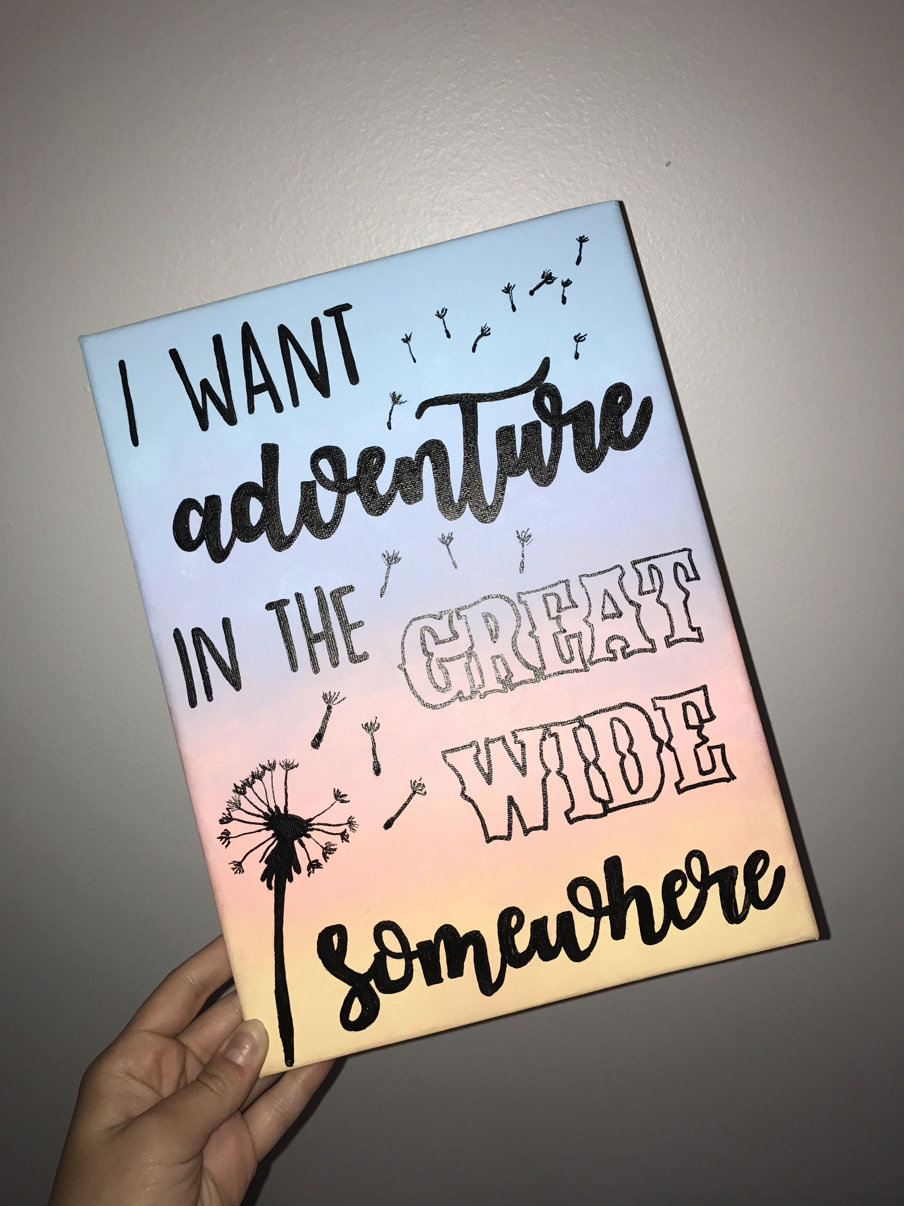 Beauty And The Beast Canvas I Want Adventure In The Great Wide Somewhere Disney Canvas Art Disney Canvas Disney Canvas Paintings