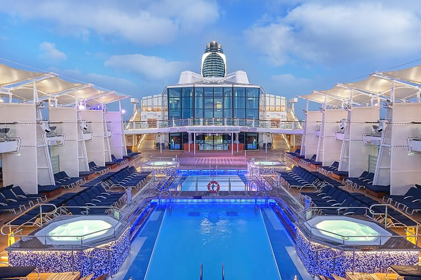 Pool Deck Area On Board Celebrity Equinox Celebrityequinox