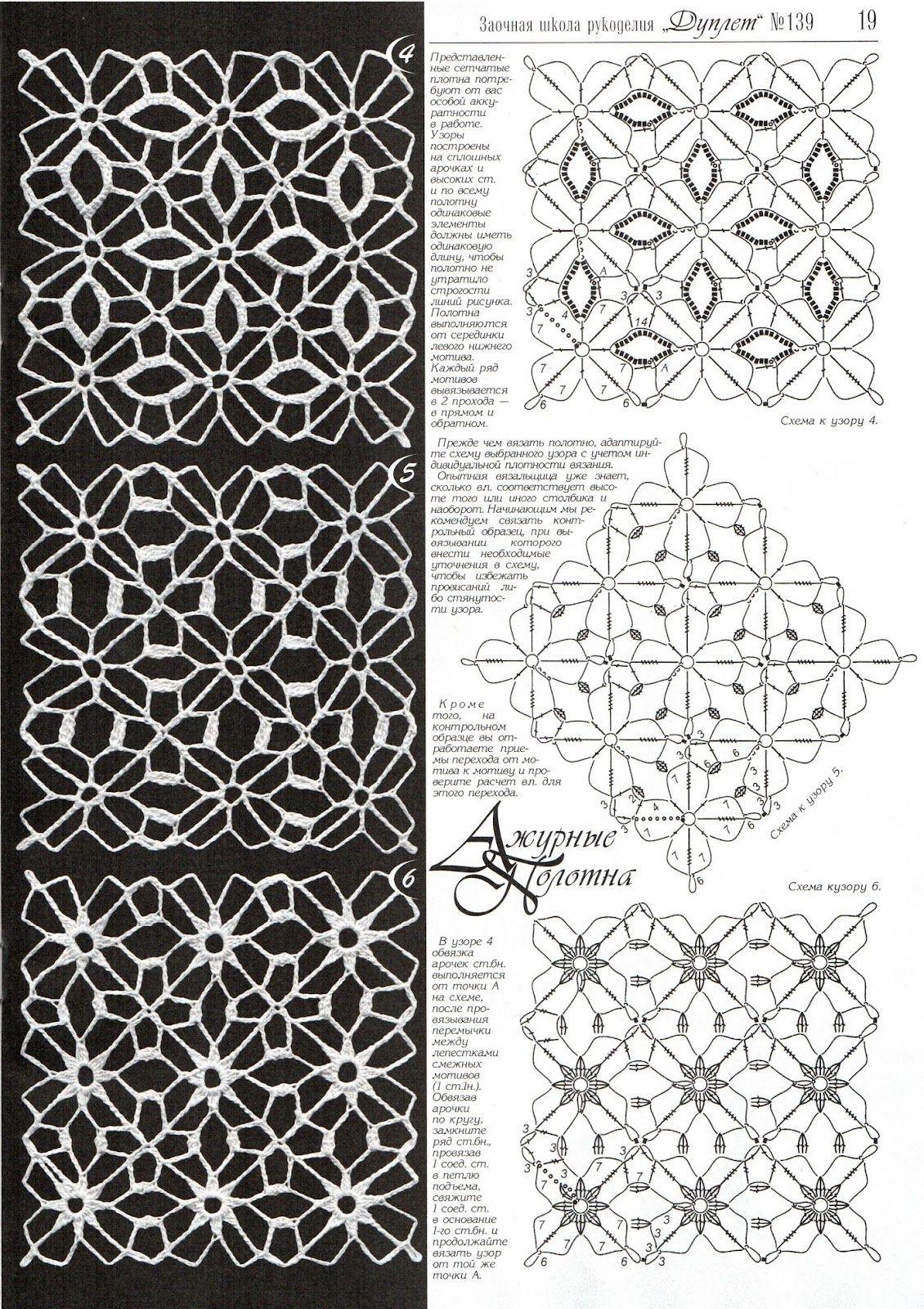 SOLO PUNTOS: crochet cuadrados | cuadros crochet | Pinterest ...