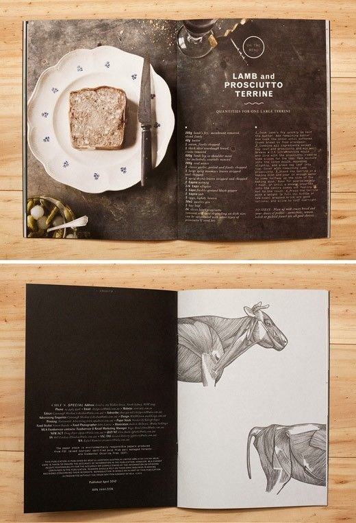 Photographed with consideration of page layout. Art direction.