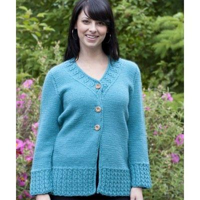 Cascade Yarns W433 Womens Cardigan Free In New Knitting Patterns