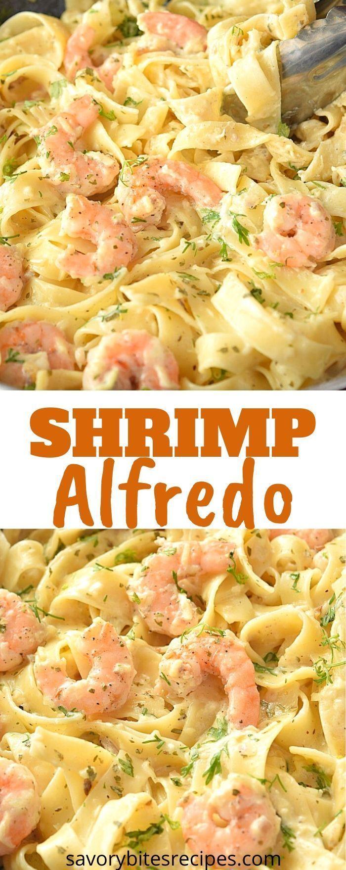 Try This Best Olive Garden Shrimp Alfredo in 2020   Easy ...