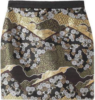 Proenza Schouler Brocade Mini Skirt Shopstyle Jupe