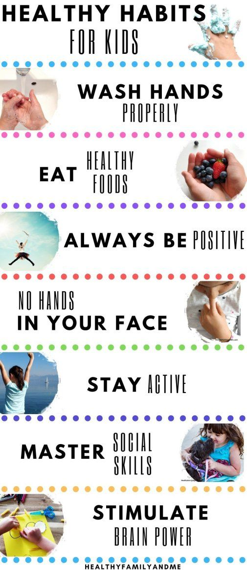 7 Healthy Habits for Kids You Must Know - Healthy Family and Me #kidsnutrition