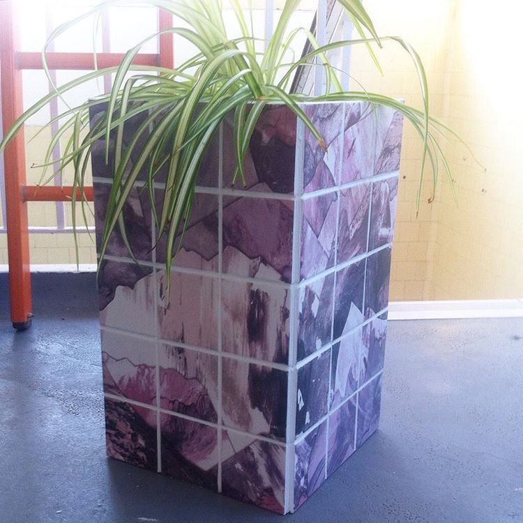 #tiletuesday Yama Wine tile planter for #tentlondon #ldf15 #tiles #tileinspiration #dslooking #dspattern #dscolour #abstract #geometrics #print #patterndesign #surfacepattern #surfacepatterndesign #interiors #interinspo #interiordesign #interioraccessories #homewares