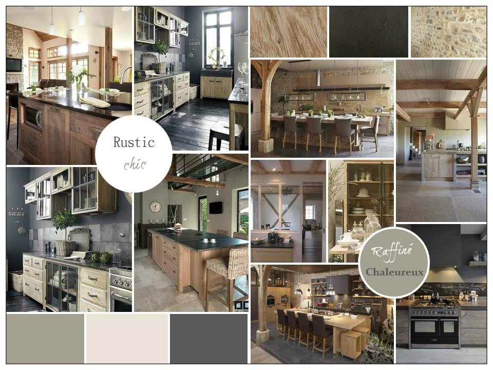 ambiance rustic chic pour une cuisine coach d co planches tendance pinterest ambiance. Black Bedroom Furniture Sets. Home Design Ideas