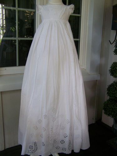 Antique Early Victorian Christening Gown | eBay