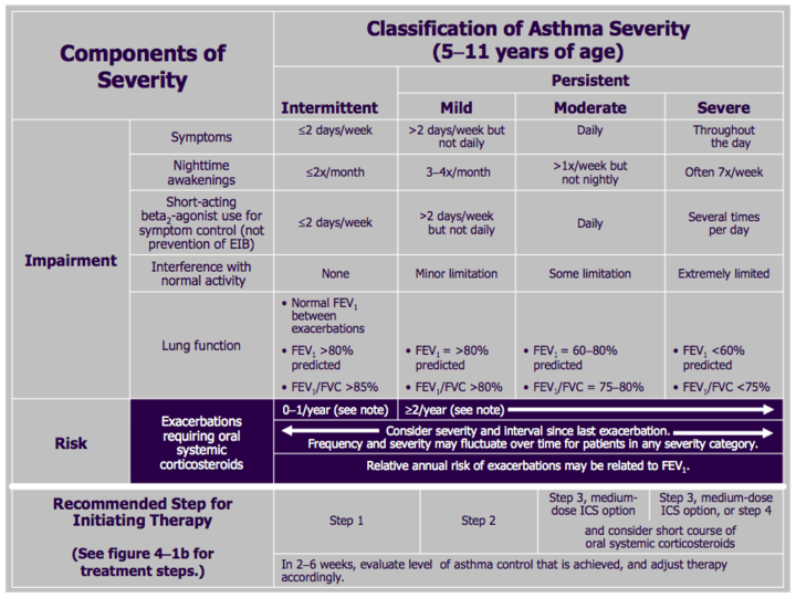 Asthma Action Plan Pdf | Wheezing Phenotypes And Natural History