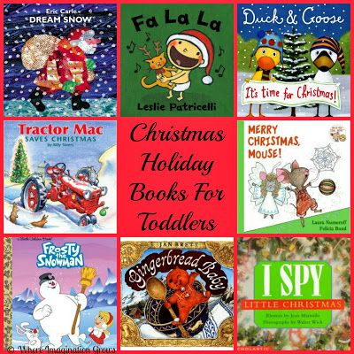 Christmas Books For Toddlers Toddler Books Christmas Holidays And
