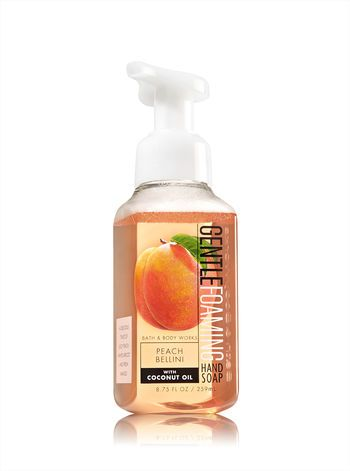 Peach Bellini Gentle Foaming Hand Soap Bath And Body Works