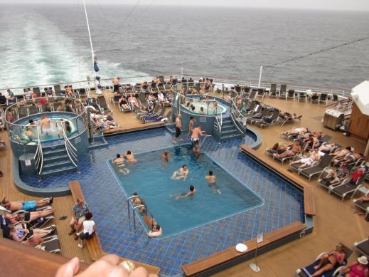 Adults Only Swimming Pool - Carnival Splendor