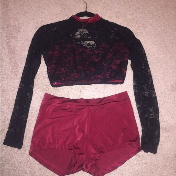 Dance costume 2 piece costume purchased from Reverence. Worn 4 times for competitions so it's in good condition! Other