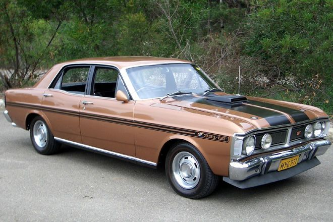 1971 Ford Falcon Xy Gt Ho Phase 3 Australian Muscle Cars Ford
