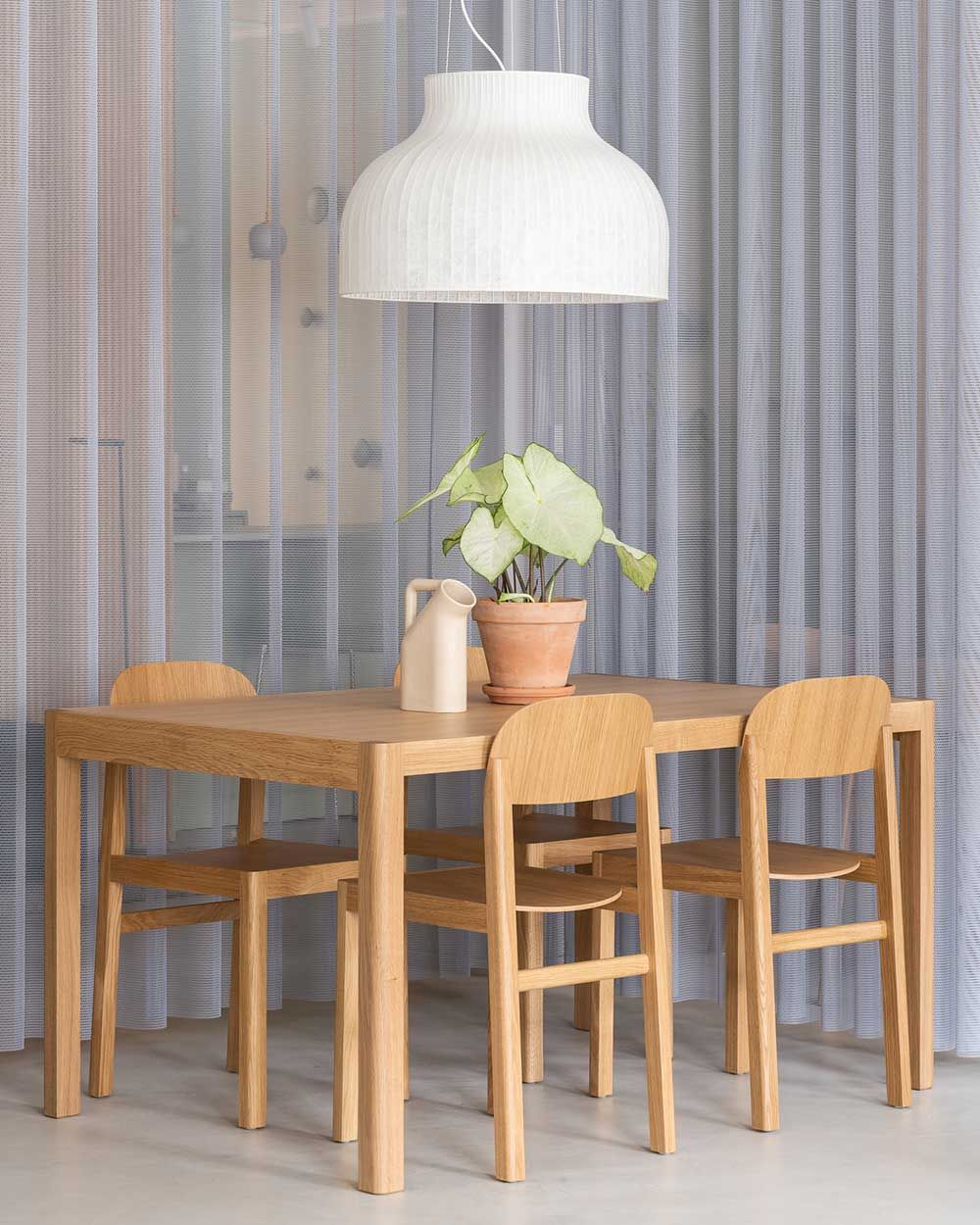 The Workshop Table Joins Together The Ideals Of Scandinavian Craftsmanship And S In 2020 Dining Room Decor Modern Scandinavian Furniture Design Dining Room Inspiration
